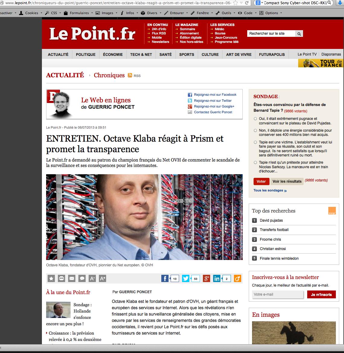 Le Point 2013