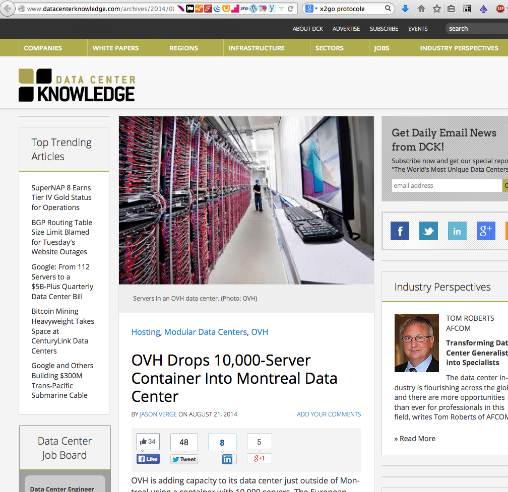 Datacenter Knowledge 2014